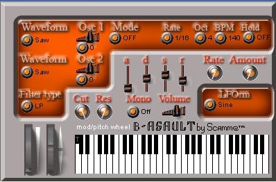 B-asault VSTi synthesizer