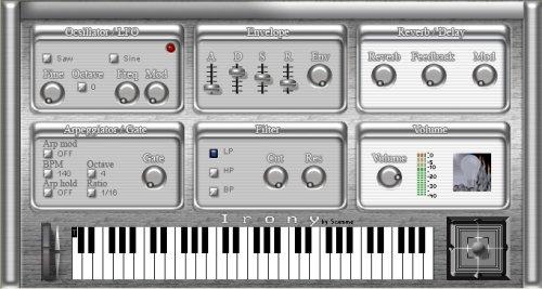 Irony VSTi synthesizer