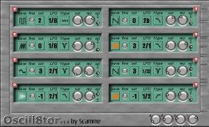 Oscill8tor VSTi synthesizer